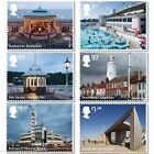 GB 3321 3326 3635 3640 Seaside Architecture set 6 stamps MNH 2014