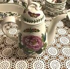 Portmeirion Botanic Garden Coffee Pot w Lid Shrubby Peony England MINT