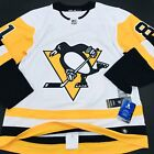 Adidas Authentic Pittsburgh Penguins AWAY Kessel FIGHT STRAP Jersey sz 50 (457)