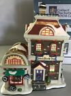 Lemax Carole Towne Village Drews Bicycle Shop House Lighted Accessories