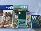 Weight Watchers MY WW New BLUE GREEN PURPLE Food Plans Guides + Calculator