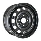 03114 Refinished Ford Contour 1995 2000 14 inch Black Steel Wheel Rim