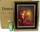 Framed Spirit of Christmas Art Print Greg Olsen 20 x 17 Santa Nativity