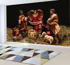 Nativity of Jesus Farm Manger Photo Wallpaper Art Wall Mural Pre pasted Sticker