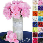 120 pcs Silk PEONY Flowers for Wedding Bouquets Centerpieces Supplies