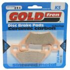 Front Disc Brake Pads for Kymco MXU 400 2010 367cc By GOLDfren