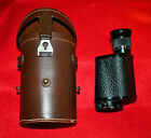 CARL ZEISS JENA MONOCULAR WITH FITTED LEATHER CASE CIRCA 1950