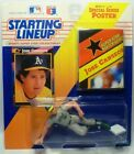 Kenner 1992 Starting Lineup Baseball Jose Canseco Figure Card and Poster