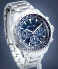 NAUTICA AUTHENTIC PIER 39, STAINLESS CHRONOGRAPH WATCH NAPP39004, NEW IN CASE