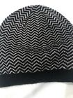 Charming Charlie Beanie Hat Women Silver And Black NWOT!