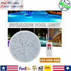 High Quality LED Pool Light 12V 40W RGB Color Changing Light For Swimming Pool