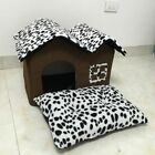 Soft Pet Bed Puppy Cat Dog Spot House Warm Cushion Mat Bedding Indoor Portable
