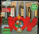 85 Ft Nativity Joy Airblown Christmas Inflatable