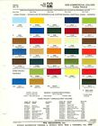 1975 FORD BRONCO ECONOLINE VANS PICKUP TRUCK F 150 F 250 F 350 PAINT CHIPS PPG