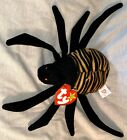 RARE - TY BEANIE BABY RETIRED SPINNER SPIDER 1996 MINT w/MULTIPLE TAG ERRORS