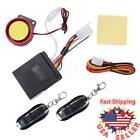 Motorcycle Scooter Cruiser Bike Alarm System Anti-theft Security Remote Control