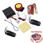 125DB Motorcycle Alarm System Immobiliser 2 Remote Control Security Anti-theft