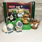 Fisher Price Little People Lil Shepherds Christmas Nativity Complete With Box