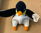 Ty Teenie Beanie Baby 1993 Waddle The Penguin Used With Tag