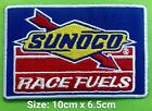 SUNOCO Race Fuels Oil Station(Blue) Logo iron,sewing,Patch,decorate on Fabrics