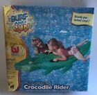 Bestway USA Surf and Sun Crocodile Rider Inflatable Pool Toy 2004 Vintage NOS