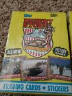 1991 Topps Desert Storm Victory Series 2 Full Boxes 36ct In Each Box Free Ship