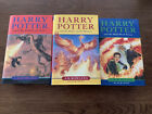 1st Edition Early Print UK Bloomsbury Harry Potter Partial Set HC