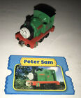 Peter Sam Thomas & Friends Take n Play diecast train  With Card
