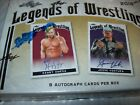 2018 LEAF Legends Of Wrestling Collector Card Hobby Box = 8 Auto Cards Free Ship