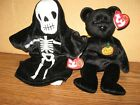 TY Beanie Babies creepers 0842104376 TY Haunt 0842104377 Oct. 18/27 2000