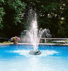 Aqua Select Triple Tier Rock Above Ground  Inground Swimming Pool Fountain