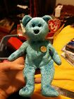 CLASSY THE PEOPLE'S BEAR #4373 BEAR TY BEANIE BABY MWMT