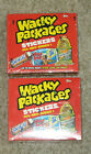 2004 Topps Wacky Packages All New Series 1 hobby sealed trading card 2-box lot