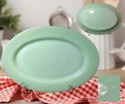 Vintage FIRE-KING Oven Ware Made In USA JADEITE 11.25