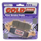 Front Disc Brake Pads for Suzuki XF650 Freewind 2001 650cc (AC/H674) By GOLDfren