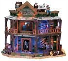 Lemax Spooky Town Dry Gulch Hotel #75553 ~ NEW Halloween Village Cowboy Western
