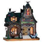 Lemax Spooky Town Creepy Doll Shop #65071 ~ Creepy Halloween Village Dolls READ