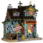Lemax Spooky Town Dead Man's Cabin #45676 Rare/Retired Halloween Village Creepy