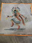 Native American Needlepoint Canvas Harvest Dancer NEW