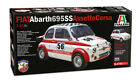 Italeri 4705 1/12 Scale Model Car Kit Fiat Abarth 695SS/Assetto Corsa