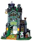 Lemax Spooky Town The Gate House At Haunted Meadows #45663 ~ Halloween Village