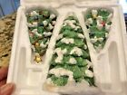 HAWTHORNE VILLAGE PRECIOUS MOMENTS ACCESSORY O CHRISTMAS TREE 3 pc SET MIB