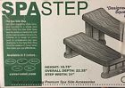 Cover Valet Spa Side Step New in Box Java Color Made in USA