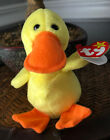 Ty Beanie Baby Quakers 1993 PVC Mint condition
