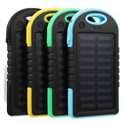Excellway Portable 10000mAh Solar Powered System Charger USB Battery Charger