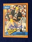 Paul Hornung Cards, Rookie Card and Autographed Memorabilia Guide 9