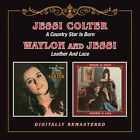 Jessi Colter - Country Star Is Born / Leather & Lace [CD New]