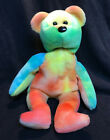 1993 TY Beanie Baby GARCIA Style 4051 3rd generation tush tags PVC PELLETS China