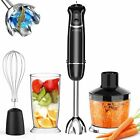 500W Hand Blender Stick immersion Mixer Variable Speed Food Processor KitchenSet