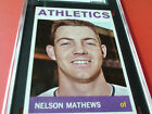 1964 NELSON MATHEWS TOPPS # 166 SGC 96 MINT ATHLETICS !!